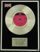 "THE KINKS - 7"" Platinum Disc - SUNNY AFTERNOON"
